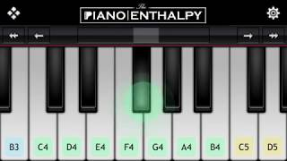 Dil Diyan Gallan (TIGER ZINDA HAI)   Piano Tutorial   Piano Enthalpy