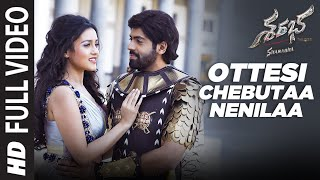 Ottesi Chebutaa Nenilaa Video Song | Sharabha Telugu Movie Songs | Aakash Kumar Sehdev,Mishti | Koti