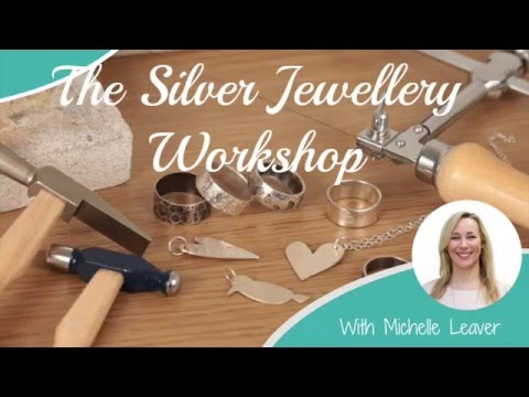 The Silver Jewellery Workshop - Jewelry School Online Course Trailer