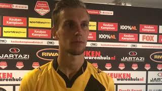 INTERVIEW | Finn Stokkers na FC Dordrecht - NAC (0-2)