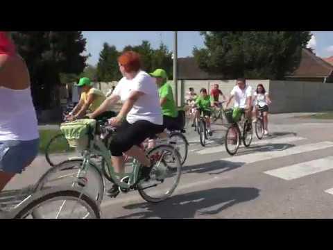Na kolesách proti rakovine 2019 Michal nad Žitavou (Kamera Peter Porubský)