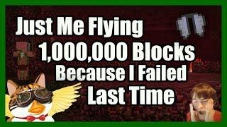 Flying Over 1,000,000 Blocks In Survival & SAVING MY STUFF   Kholo.pk