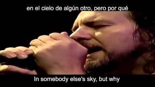 Pearl Jam   Black  Lyric  Ingles  Español