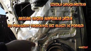 Szkoła Druciarstwa Nissan Micra Naprawa Drzwi Prawdziwy Fachowiec Bez Kluczy Se Poradzi Wazzup :)
