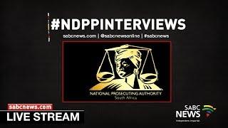 National Director of Public Prosecutions Interviews, 14 November 2018 Part 2