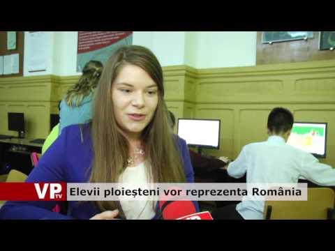 Elevii ploieșteni vor reprezenta România