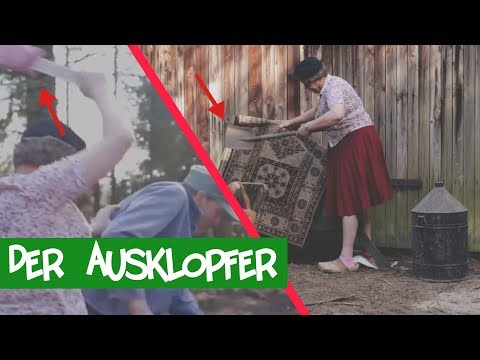 Der Teppichklopfer - Dorckey Dorck | Teppichklopfen | Ausklopfer