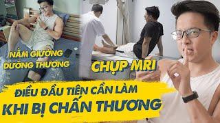 ĐIỀU ĐẦU TIÊN bạn CẦN LÀM khi BỊ CHẤN THƯƠNG  Ankle Rehab Journey  An Nguyen Fitness