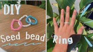 ✰DIY Seed Bead Ring | Easy✰