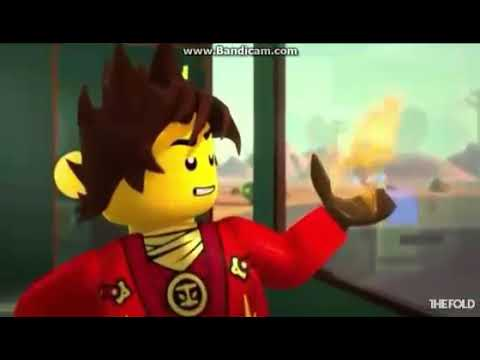 Лего Ниндзяго Кай за нами едут палиться