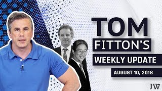 Tom Fitton:BIG Judicial Watch Court Victory--DOJ FORCED to Preserve Comey Docs & NEW Fusion GPS Suit