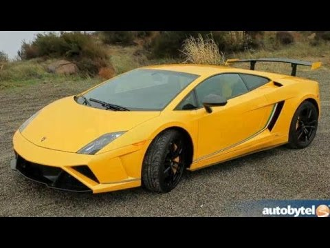 Lamborghini Gallardo Squadra Corse Test Drive Video Review