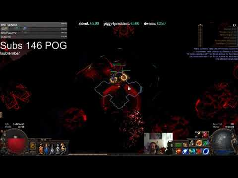 Bv Elementalist 4link Ahuatotli The Blind Vaal Architect