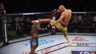 МЯСОРУБКА в НОВОМ СЕЗОНЕ/МИРОВОЙ ТОП UFC 3