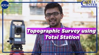 Topographic Survey Using Total Station Part:1