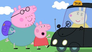 Peppa Pig English Episodes | Miss Rabbit's Taxi Peppa Pig Official