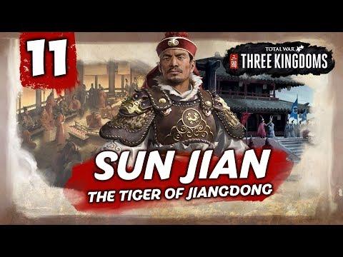 ABANDON THE EMPEROR! Total War: Three Kingdoms - Sun Jian - Romance Campaign #11
