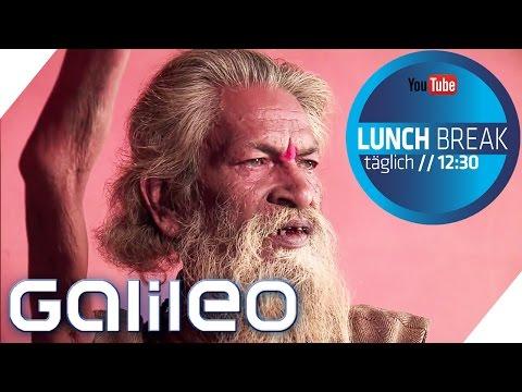 Inder hält 38 Jahre lang den Arm in die Luft | Galileo Lunch Break