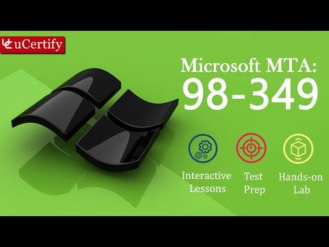 Microsoft 98-349 - MTA: Windows Operating System Fundamentals ...