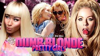 Avril Lavigne, Britney Spears, Nicki Minaj & Iggy Azalea   PRETTY DUMB BLONDE GIRLS 🍒 (Mashup)   MV