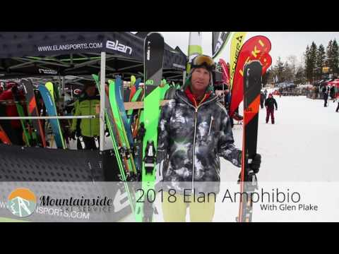 2017-2018 Elan Amphibio Alpine Skis with Glen Plake