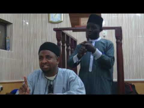Day 1 2018 Ramadan Tafseer by Dr Abdallah Usman Gadon kaya 1439H