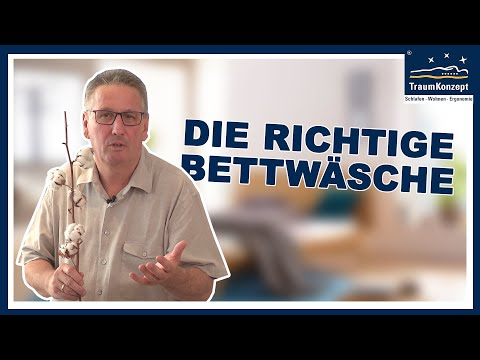 Wie finde ich gute Bettwäsche - FRAG DEN JÄGER - TraumKonzept Folge 22