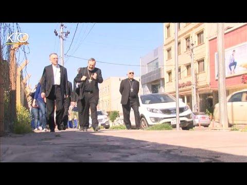 Des évêques français visitent les chrétiens d'Irak