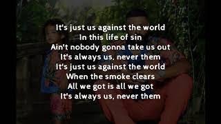 DJ Khaled, SZA   Just Us (LYRICS)