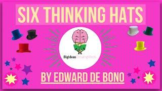 Six Thinking Hats By Edward De Bono: animated Summary