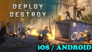 DEPLOY AND DESTROY: ASH VS ED - iOS / ANDROID GAMEPLAY