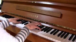アシタカとサン もののけ姫 ピアノ