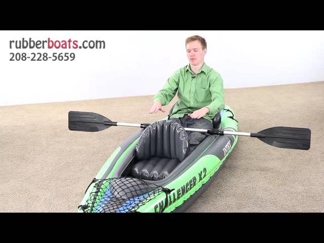 The New Intex Challenger K2 Two-Man Kayak