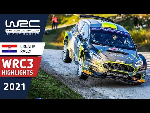 WRC3 2021 第3戦ラリー・クロアチア ハイライト動画