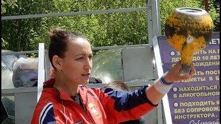 гиревой спорт - выступление с гирями Чедябинск