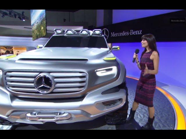 Mercedes 2013 G-Class G-Force Concept Commercial LA Auto Show Carjam TV HD Car TV Show