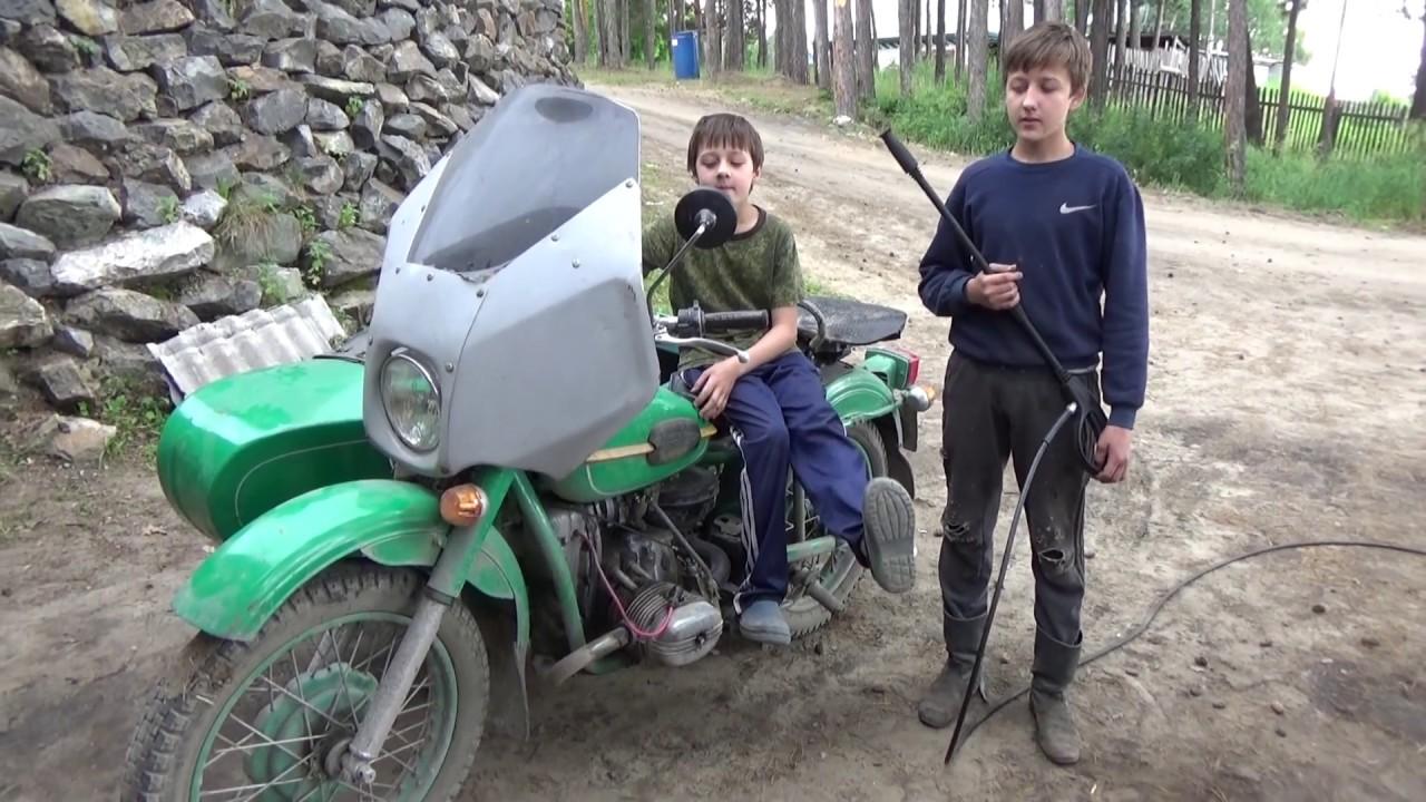 как починить мотоцикл урал ютуб дорогу