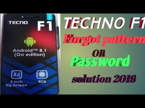 Tecno in1 pattern and lock code reset - смотреть онлайн на