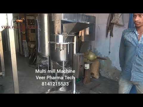 Stainless Steel Multi Mill Machine