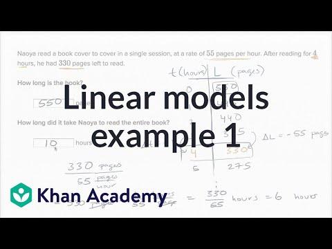 (8.F.B.4)Linear models word problems