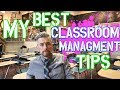 My Daily Classroom Management Strategies | High School Teacher Vlog