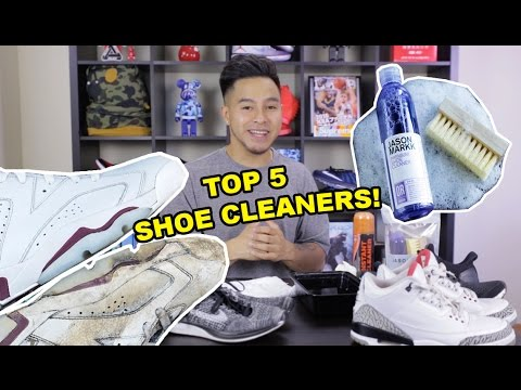TOP 5 SHOE CLEANERS OUT RIGHT NOW! WHICH ONE IS RIGHT FOR YOU?