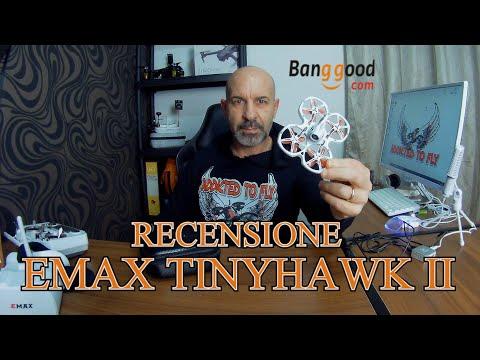 EMAX TINYHAWK 2 CARATTERISTICHE E TEST DI VOLO
