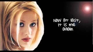 Christina Aguilera - Pero Me Acuerdo De Ti (English Lyrics) HD