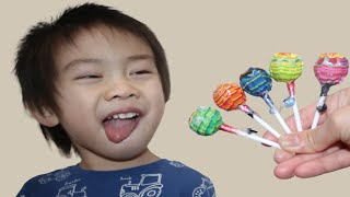 Chupa Chups Lollipop Learn Colors Colors Song for Toddler