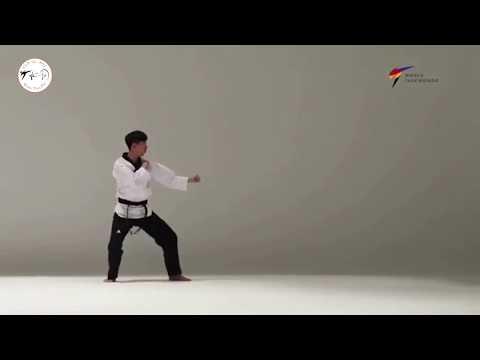 Taekwondo New Poomsae WT Beegak 1 - 2017