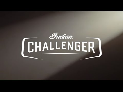 2020 Indian Challenger® Dark Horse® in San Diego, California - Video 1