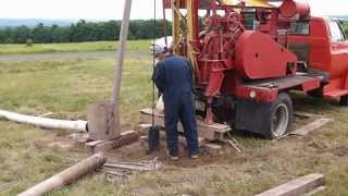 bailing the well