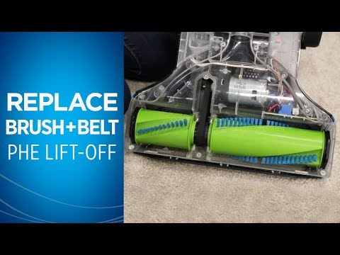How to Replace the Belt and Brush Roll on your Pet Hair Eraser® Lift-Off® Video