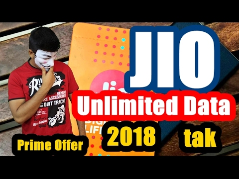 303 rs/Month Breaking News!!! Jio Prime Offer till 2018 | Unlimted Data + Calls at 99rs